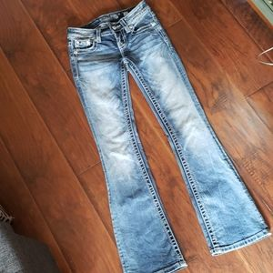 Miss Me Size 23 Boot Cut Jeans
